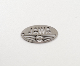 Logo jawa - nerezový výpalok 30 mm