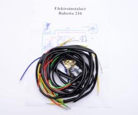 Elektroinštálacia Babetta 210