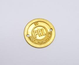 Zlatý štítok PAL na kryt klaksónu